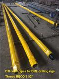 Sollroc DTH drill pipe, Drilling equipment accessories and spare parts