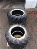Goodyear 580/70-38 + 480/70-28, Hjul, Dæk og Fælge