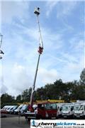 Nissan Cabstar Access Platform Multitel MX210 -  21 metre, 2012, Teherautóra szerelt emelők és állványok
