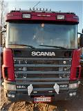 Тягач Scania R 124 124 6x2/4, 2000 г., 1130000 ч.