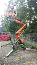 Niftylift 170 H D E, 2006, Mga trailer mount aerial  platforms
