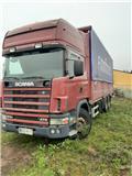 Scania R 124 GB, 2003, Flatbed Trucks