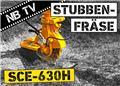 Herder SCE-630H | Baumstumpffräse für Bagger, 2021, Grabenfräse