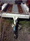 Przyczepka do przewozu aut. vxvxv, 1992, Járműszállító pótkocsik