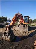 Doosan DX 140 W, 2008, Wheeled Excavators