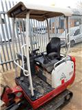 Takeuchi TB216, 2015, Mini excavators < 7t (Mini diggers)