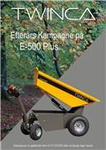 Twinca E-500 Plus, 2020, Minidumpperit