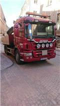 Scania P 400 LB، 2010، شاحنات مسطحة/مفصلية الجوانب