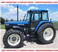 New Holland 8340, 1996, Tractoren