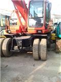 Doosan DH 130, Wheeled excavators