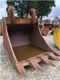 Tieflöffel 6,4m³ Festanbau 60mm Wandstärke, Backhoes