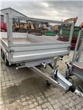 Humbaur HTK 3500.37 tiptrailer, 2001, Light trailers