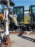 Bobcat E 17, 2015, Mini excavators < 7t (Mini diggers)