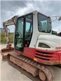Takeuchi TB285, 2013, Midi excavators  7t - 12t