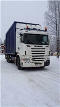 Scania R 500, 2008, Holztransportanhänger