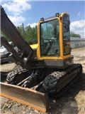 Volvo ECR 88 PLUS, 2007, Mini excavators  7t - 12t