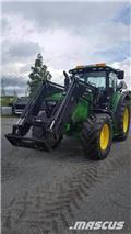 John Deere 6140 R, 2013, Traktorer