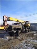 Ural УРАЛ 4320 + галичанин 25т, 2001, Maastikutõstukid