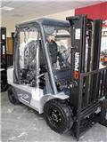 CT POWER (Toyota Industries Corporation) FD25 Silv, 2018, Diesel trucks