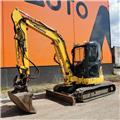 Komatsu PC55MR-3, 2012, Mini Excavators <7t (Mini Diggers)