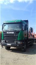 Scania G 410, 2014, Ciężarówki z żurawiem