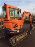 Doosan DX 27 Z, 2012, Mini Escavadoras <7t