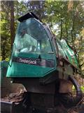 Timberjack 1270D、2004、ハーベスター