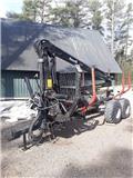 Hakki HK 3567 ja telikärry Metsäpaketti, 2011, Forest trailers