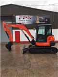 Kubota KX 057-4, 2015, Mini excavators < 7t (Penggali mini)