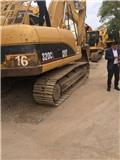 Caterpillar 320 C, Excavadoras sobre orugas