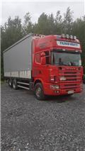 Scania R 144-460, 1999, Trak 'curtainsider'
