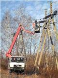 Wumag WT170H MAN 4x4, 1999, Plataformas sobre camión
