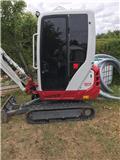 Takeuchi TB216, 2017, Minigravemaskiner