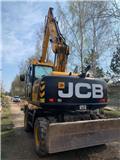 JCB JS 175 W, 2018, Ekskavatori uz riteņiem