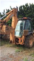 CASE 580 M, Mga Backhoe loader