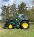 John Deere 6140R Lastare, 2013, Traktori