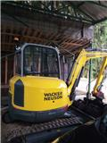 Wacker Neuson EZ38, 2016, Mini bagri <7t