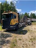 Scania R 420, 2005, Miškovežių vilkikai