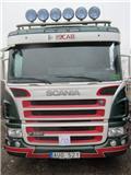 Scania P 380 LB, 2008, Växelflak-/Containerbilar