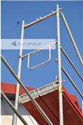 TYP PLETTAC Scaffolding double end guardrail NEW S, 2015, Andamios