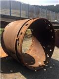 Leffer Bohrrohr / Casing ø 1500 mm/1420mm, 1 mtr., Acessórios e peças de equipamento de perfuração