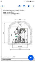 ITC MAQUINA EXACACION Y CARGA PARA TUNEL 312-1 SL, 2015, Ostala podzemna oprema