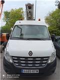 Renault Master L2 H2, 2012, Plataformas sobre camión