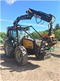 Valtra 6550 c/w 2014 Botex 570 Timber Loader, 2004, Skovbrugstraktorer