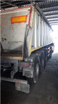 Panav NS 1 36, 2007, Flatbed/Dropside semi-trailers