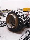 Michelin Levikepyörät 16,9 R38 välivanteilla, Paripyörät