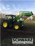 John Deere 6105 R, 2016, Traktori