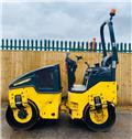 Bomag 120, 2013, Twin drum rollers