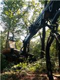 Ponsse Ergo 6W, 2006, Processadores florestais