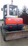 Kubota KX 161-3, 2008, Mini excavatoare < 7t
